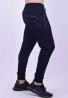 Παντελόνι φόρμας μονόχρωμο σκούρο μπλε