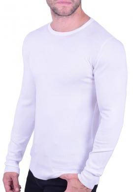 Μπλούζα λεπτό πλεκτό λευκή