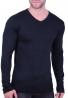 Μπλούζα Πλεκτή Με V μαύρη