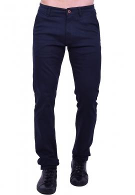 Παντελόνι υφασμάτινο chino τσέπη Blue black