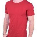 T-Shirt μονόχρωμο μπορντό