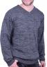 Ανδρική Μπλούζα  πλεκτή μαύρη