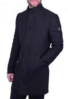 Ανδρικό παλτό zen & zen μαύρο