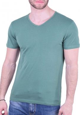 T-Shirt με V βεραμάν