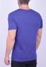 T-Shirt μονόχρωμο μπλε