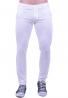 Παντελόνι υφασμάτινο chino τσέπη λευκό