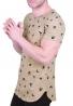 T-Shirt Με Τύπωμα Χελιδόνια Μπεζ