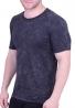 T-Shirt πετροπλυμένο Μαύρο