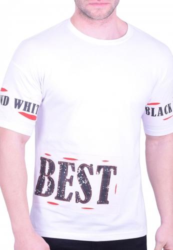 49d4cae53114 T-shirt με τυπώματα λευκό - Moda4u
