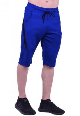 Βερμούδα αθλητική κάπρι μπλε