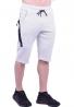 Βερμούδα αθλητική κάπρι λευκή