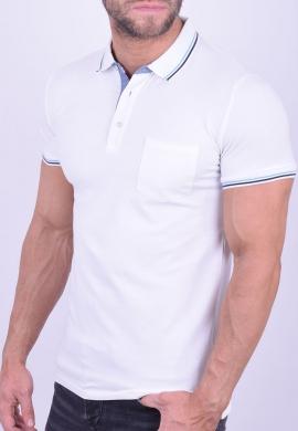 Πόλο Μπλούζα  λευκή