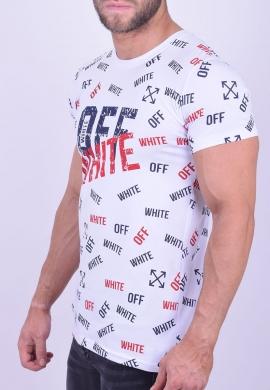 14854f045d5d T-shirt με τυπώματα λευκό