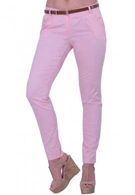 Παντελόνι Υφασμάτινο Ροζ