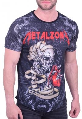 Rock t-shirt μαύρο