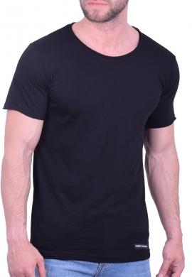 Ανδρικό t-shirt μονόχρωμο new wave