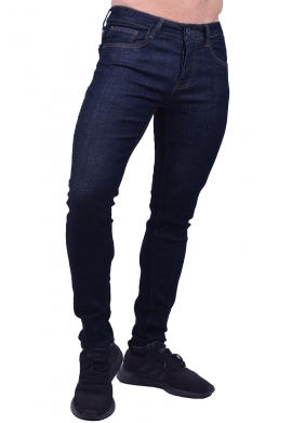 Παντελόνι τζιν ελαστικό blue black