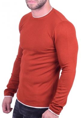 Μπλούζα μακρυμάνικη πορτοκαλί