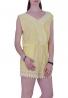 Ολόσωμη φόρμα με δαντέλα Κίτρινη