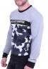 Μπλούζα φούτερ casual με σχέδιο παραλλαγής