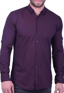 Ανδρικό πουκάμισο με γεωμετρικά σχήματα