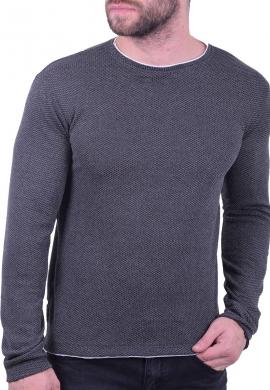 Μπλούζα  casual με ανάγλυφη υφή