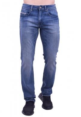 Παντελόνι τζιν σε ίση γραμμή μπλε