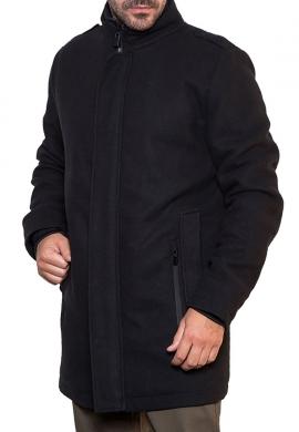 Biston παλτό 42-201-065 μαύρο