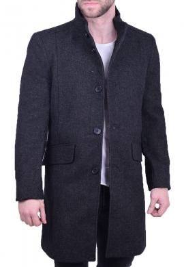 Biston ανδρικό παλτό 42-201-034 γκρι