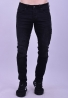 Ανδρικό παντελόνι τζιν με σκισίματα μαύρο