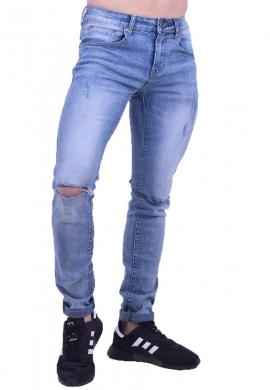Παντελόνι τζιν με σκίσιμο στα γόνατα