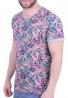 T-shirt με prints φύλλα