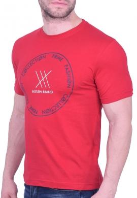 Biston t-shirt 43-206-004 κόκκινο