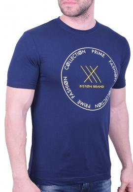 Biston t-shirt 43-206-004 μπλε