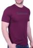 Biston t-shirt 43-206-006 μπορντό