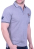 Biston πόλο μπλούζα 43-206-028 γκρι