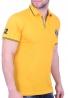 Biston πόλο μπλούζα 43-206-028 κίτρινο