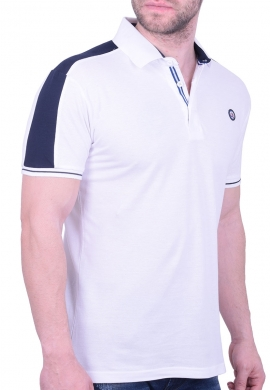 Splendid πόλο μπλούζα 43-206-030 λευκό