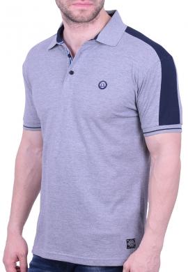 Splendid πόλο μπλούζα 43-206-030 γκρι