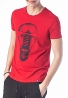 Paco & co t-shirt με τύπωμα κόκκινο