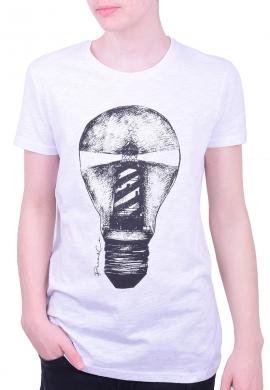 Paco & co t-shirt με τύπωμα λευκό