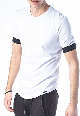 Paco & co t-shirt casual λευκό