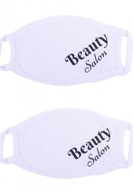 Σετ Μάσκες υφασμάτινες με τύπωμα beauty salon