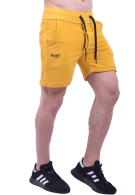 Paco & co Βερμούδα 85310 βαμβακερή κίτρινη