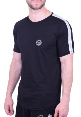 Ανδρικό  t-shirt 201-56 μαύρο new wave