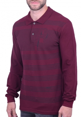 Paco & co μπλούζα πόλο 202563 μπορντό