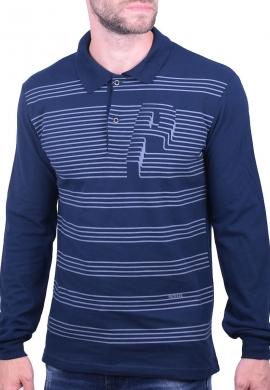 Paco & co μπλούζα πόλο 202563 μπλε