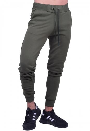 Clever παντελόνι φόρμας 20600 μονόχρωμο χακί
