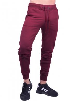 Clever παντελόνι φόρμας 20600 μονόχρωμο μπορντό
