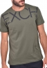 T-shirt μονόχρωμο Clever 20310 χακί